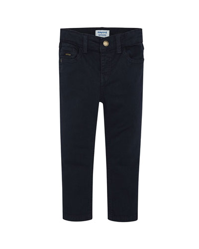 Boy's Basic Slim Fit Pants, Size 4-8