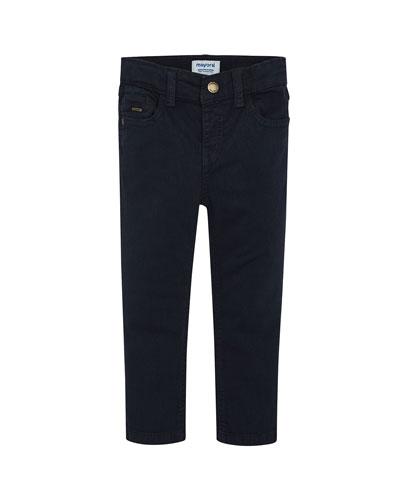 Boy's Basic Slim Fit Pants, Size 4-8