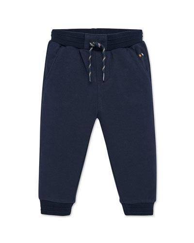 Boy's Drawstring Jogger Pants, Size 12-36 Months