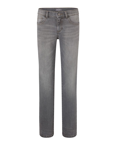 Boys' Brady Statue Slim Straight-Leg Jeans, Size Youth 7-18