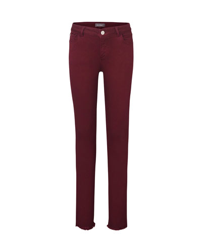 Girl's Chloe Colored Denim Skinny Jeans, Size 7-16
