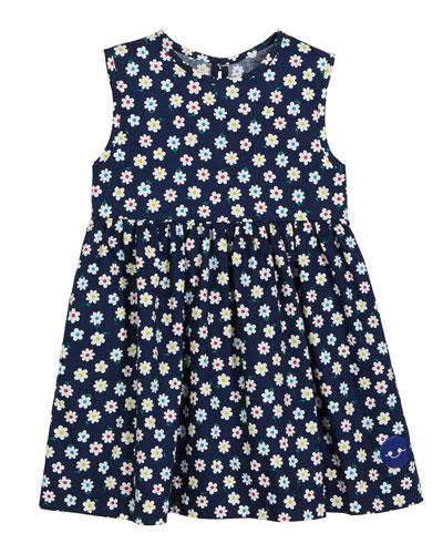 Flower Power Sleeveless Dress, Size 0m-10