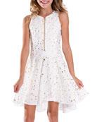 Zoe Ally Stretch-Knit Dress, Size 7-16