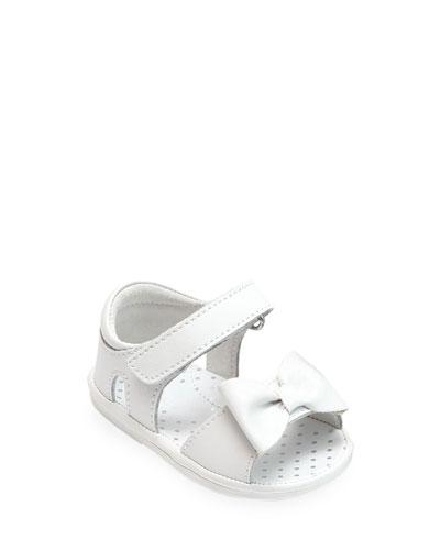 Bessie Bowed Sandals, Baby/Toddler
