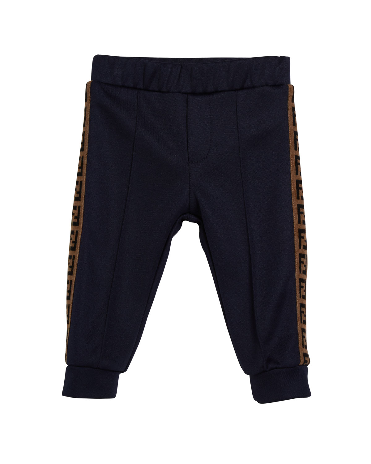 Fendi BOY'S TRACK PANTS W/ FF TAPING