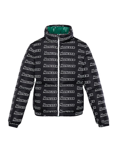 36530c3dc Moncler Black Down Fill Coat | Neiman Marcus