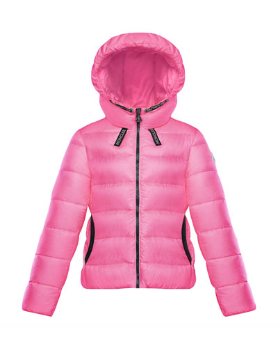 Chevril Hooded Puffer Coat, Size 8-14