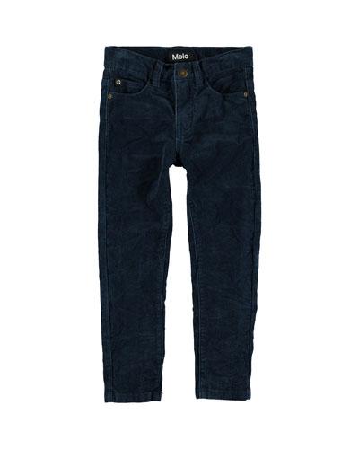 Boy's Anton Corduroy Pants, Size 4-12
