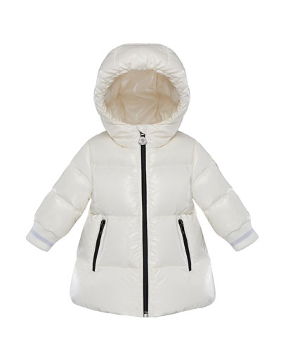 Hooded Puffer Coat, Size 12M-3