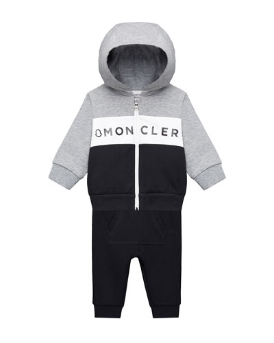 Zip-Up Hoodie w/ Matching Sweatpants, Size 12M-3