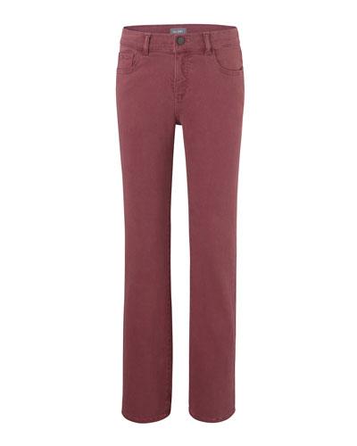 Boy's Brady Slim Colored Denim Jeans, Size 8-16