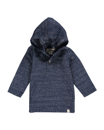 Hooded Woven Top w/ Children's Book, Size 2T-10