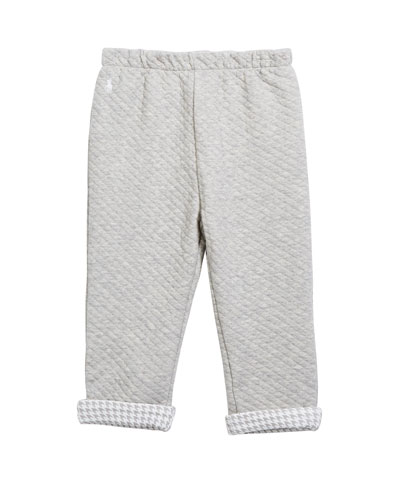 Boy's Diamond Jacquard Sweatpants, Size 6-24 Months