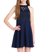 Sally Miller Girl's The Ava Techno Crepe Lace