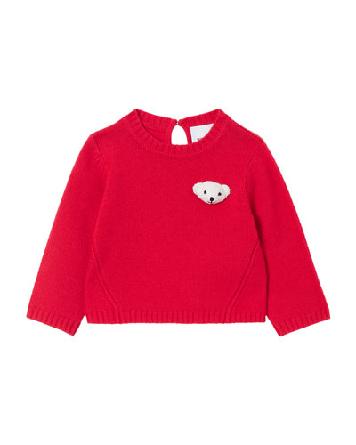 Boy's Gert Teddy Bear Sweater, Size 6M-2