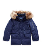Ralph Lauren Childrenswear Boy's Military Parka Jacket w/