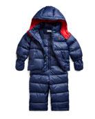 Ralph Lauren Childrenswear Boy's Snow Overalls w/ Matching