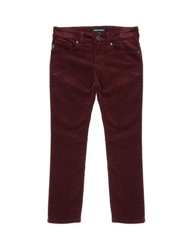Boy's Stretch Skinny Denim Jeans, Size 4-16