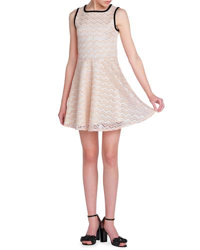 Girl's The Luna Lace Dress, Size S-XL