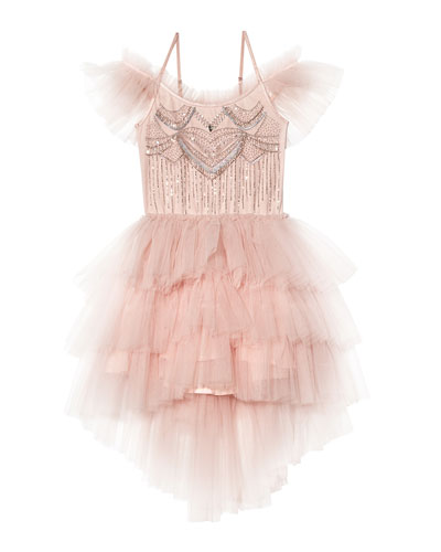 Girl's Bedazzle Tutu Dress, Size 2T-11
