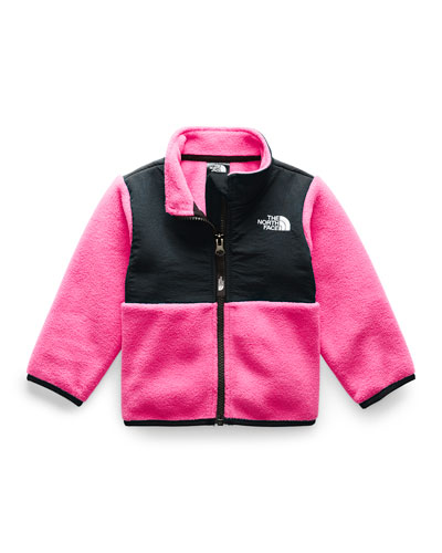 Girl's Denali Two-Tone Fleece Jacket, Size 6-24 Months