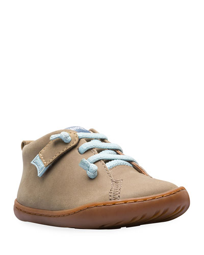 Lace-Up Suede Boots, Baby/Toddler