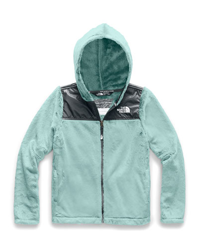 Girl's Oso Fleece Hooded Jacket, Size XXS-XL