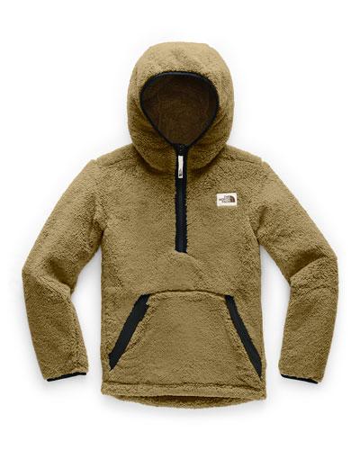 Boy's Campshire Fleece Half Zip Hoodie, Size XXS-XL