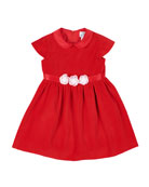 Florence Eiseman Girl's Velvet Peter Pan Collar Dress