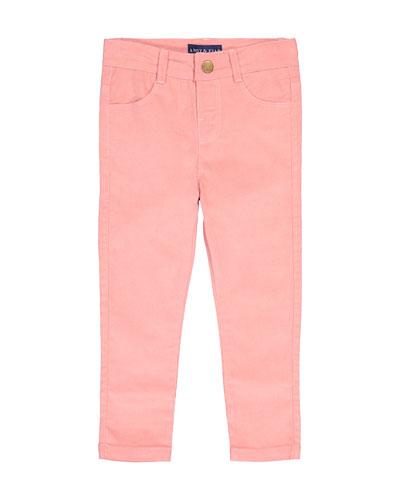 Kid's Corduroy Skinny Jeggings, Size 2-7
