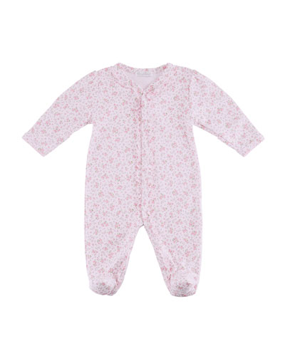 Dusty Rose Ruffle Footie Playsuit, Size Newborn-9 Months