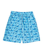 Peter Millar Boy's Gulf Stream Sailboats & Swordfish