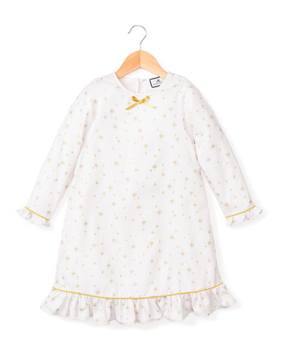 Catherine Gilded Celebration Nightgown, Size 6M-14