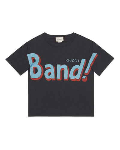 Girl's Vintage Band Graphic Jersey T-Shirt, Size 4-12
