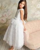 White Label by Zoe Girl's Chloe Layered Ruffle