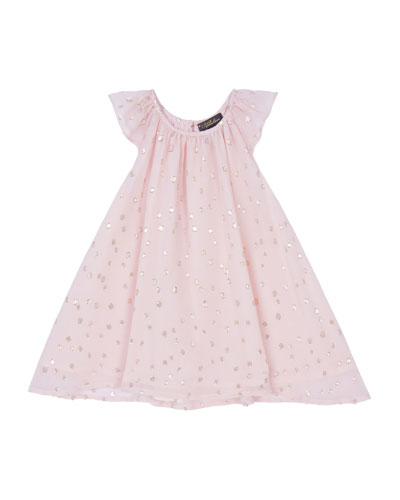 Girl's Harper Party Dress, Size 3-24 Months
