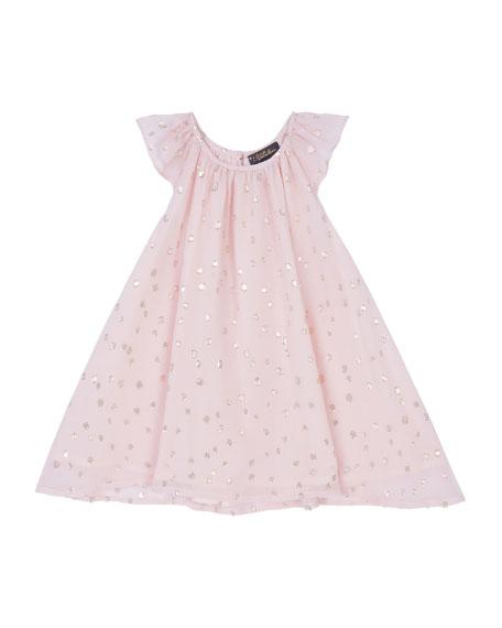 Velveteen Girl's Harper Party Dress, Size 3-24 Months