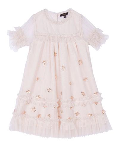 Laylani Embellished Party Dress, Size 8-12