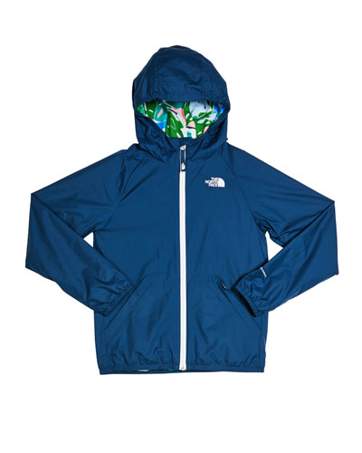 Girl's Windy Crest Hooded Zip-Up Jacket, Size XXS-XL