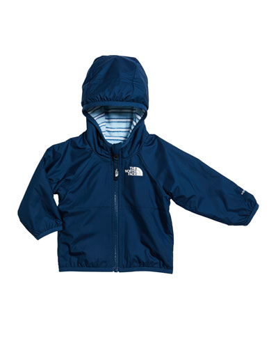 Boy's Breezeway Reversible Wind Jacket, Size 6-24 Months
