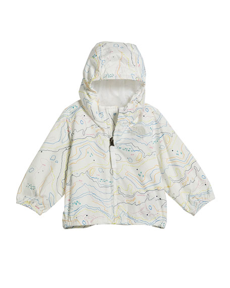 The North Face Girl's Flurry Wind-Resistant Hooded Jacket, Size 6-24 Months