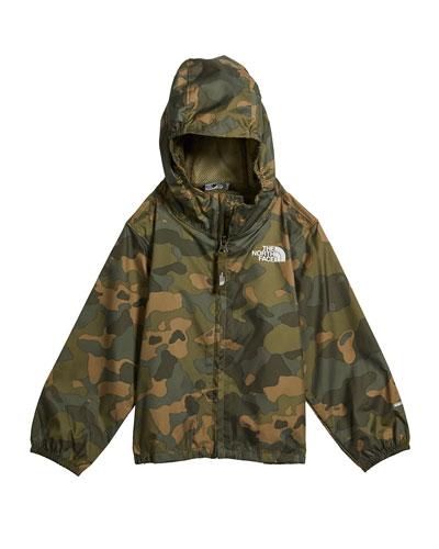 Boy's Flurry Wind-Resistant Hooded Jacket, Size 4T-3