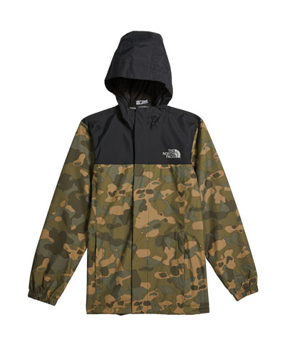 Boy's Resolve Reflective Camo Jacket, Size XXS-XL