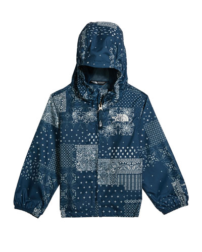 Boy's Flurry Wind-Resistant Hooded Jacket, Size 2-4T