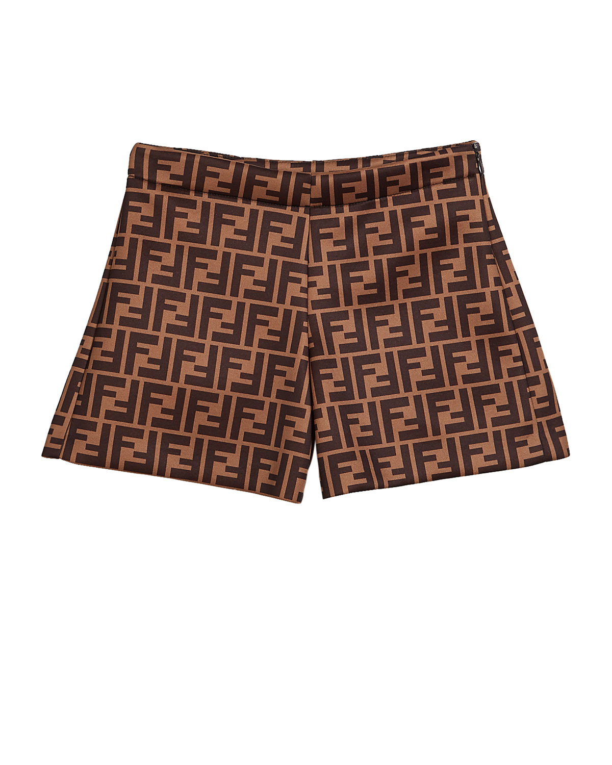 Fendi GIRL'S FF-PRINT SHORTS