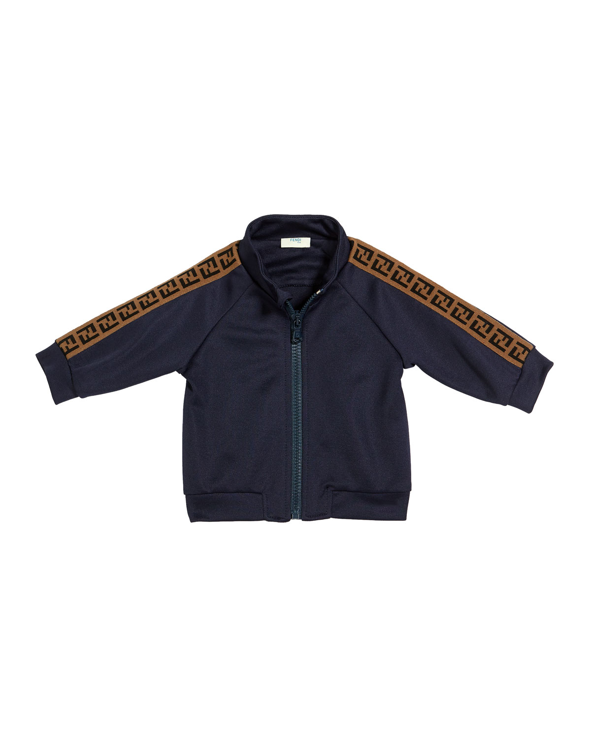 Fendi BOY'S TRACK JACKET W/ LOGO TAPING