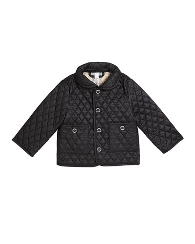 Boy's Colin Quilted Jacket, Size 3-18 Months
