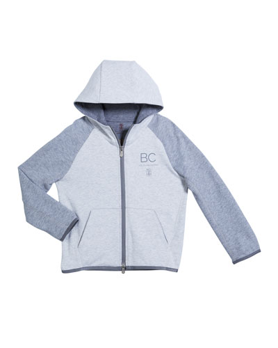 Butter Boys Reverse French Terry Zip Up Hoodie