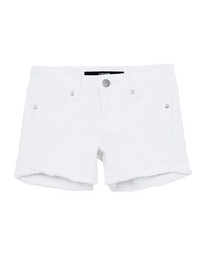 Plus Size Pink Cut Off Frayed Cotton Candy Yellow Tye Dye Pocket Shorts 1X 2X 3X