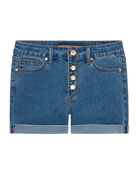 Joe's Jeans Girl's High Rise Button Fly Denim
